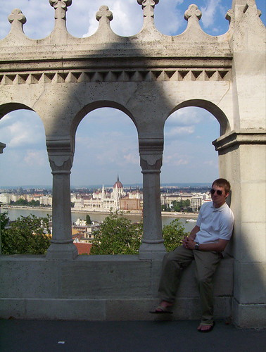 Overlooking Budapest from the Castle